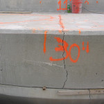 "chemical expansive-concrete breaking 30"" slab"