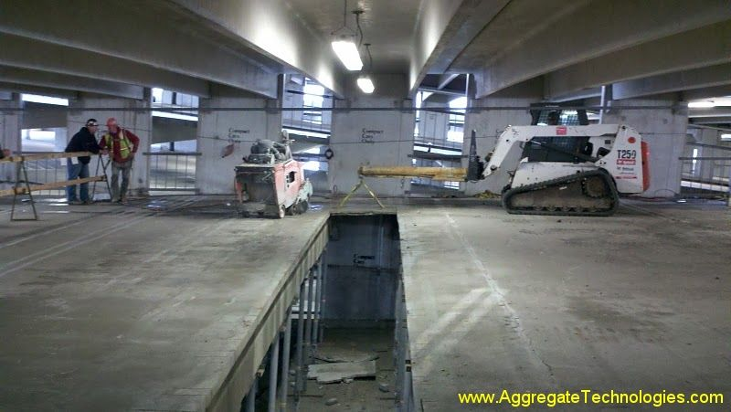 Structural Slab Removal -
