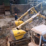 Robotic Hammering and Demolition