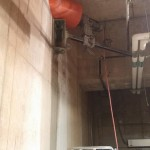 Core drilling angled conduit access at Texas Medical Center  (2)