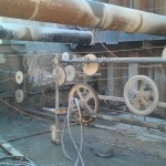 Wire sawing inside plant (3)