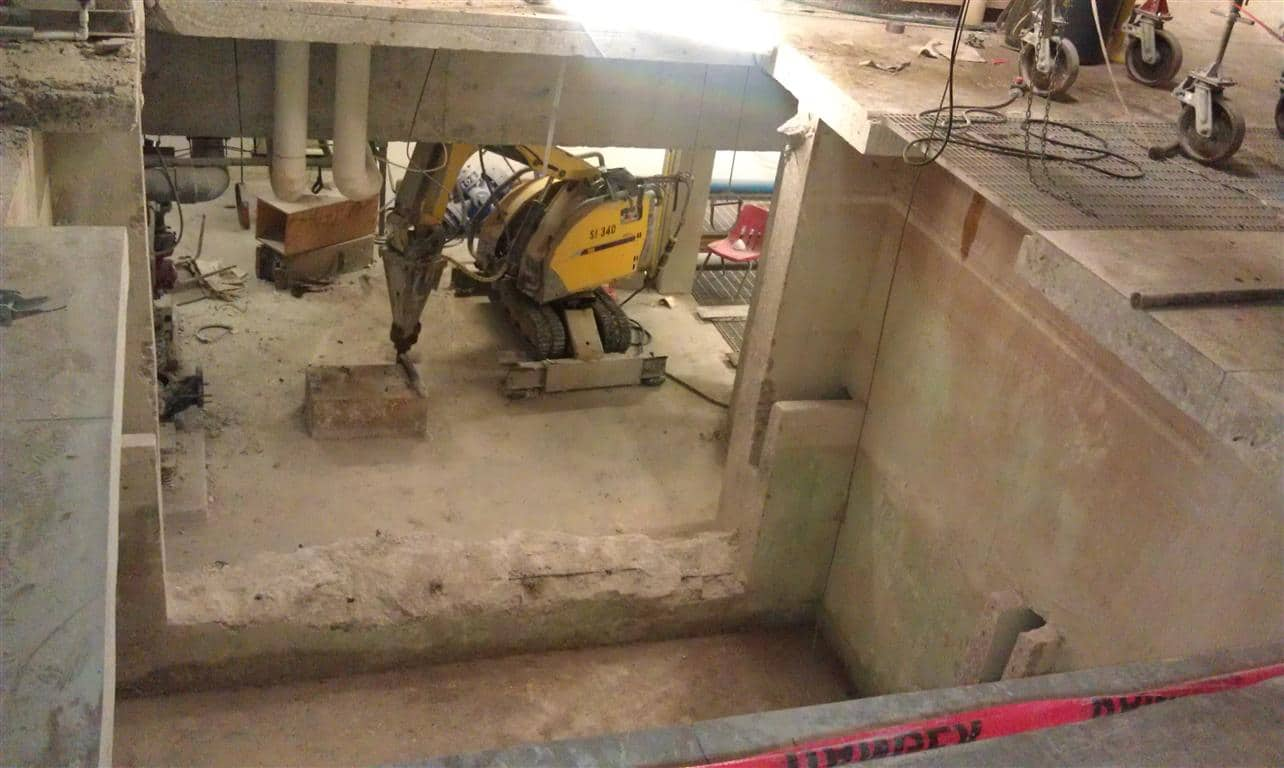 Concrete removal for Removing concrete floor