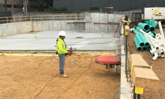 Concrete Wall Sawing Houston